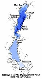 chautauqua lake map