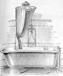 clawfoot showers