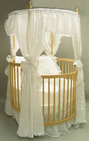 white round cribs