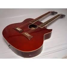 acoustic double neck guitars