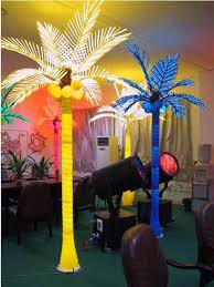 lighted palmtree