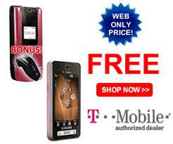 pink tmobile phone