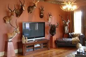 wooden deer stand