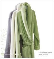 fleece gowns