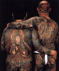 heavily tattooed men