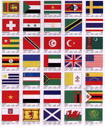 all the world flags