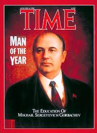 El trotskismo al servicio de la CIA contra los países socialistas TIME_Gorbachev