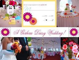 gerber daisy bridal
