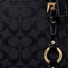 signature coach bag
