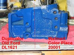 ford blue paint
