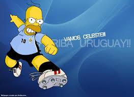 Los Simpsons Con Todas Las Camisetas de Futbol