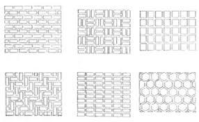 patio brick patterns