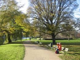 een park