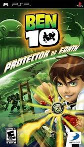 ben 10 protector of earth for psp