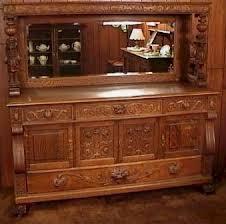 antique oak sideboards