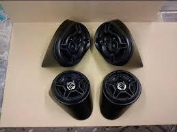 fiberglass speaker pods