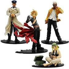full metal alchemist action figures