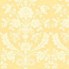 cream damask wallpaper