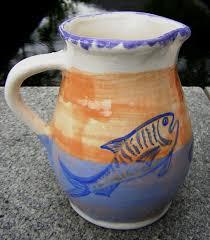 fish pitcher