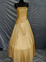 gold ball dresses