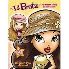 lil bratz coloring pages
