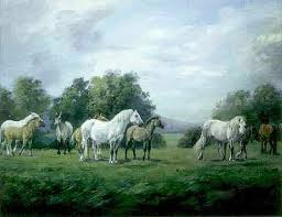 painting horse