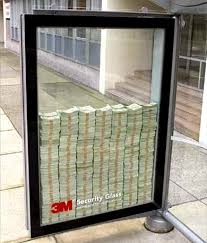 money glass
