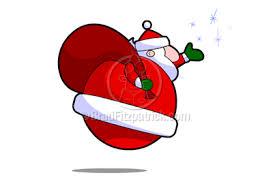animated santa clause