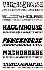 70s typefaces