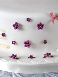 flowers cake decoration