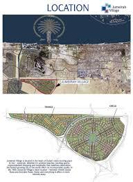 jumeirah village map