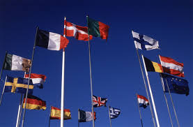 national flags europe