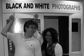 pictures of people in black and white