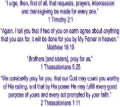 prayer teams