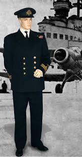 royal navy officer uniform