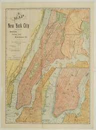 old new york city maps