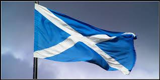 national flag of scotland