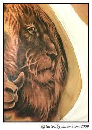 leo the lion tattoos