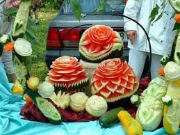carving food
