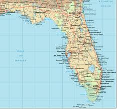 map of the florida