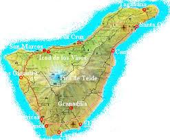 el medano map