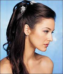 bridal party hairstyles photos