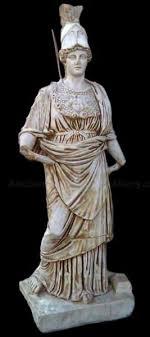 athena statues