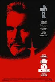 hunt for red october poster