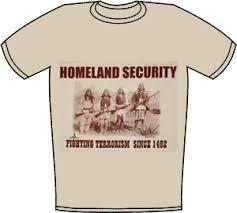 homeland security tee shirt