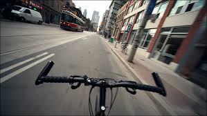 biking video