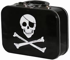 skull lunch boxes
