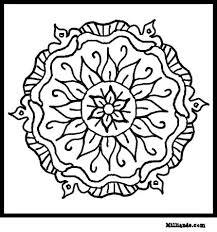mandalas to print and color