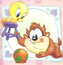 baby looney tunes taz