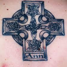 celtic lower back tattoo